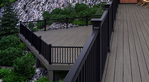 Brown Composite Deck