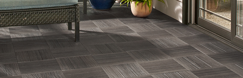 Deck Tiles in Grey