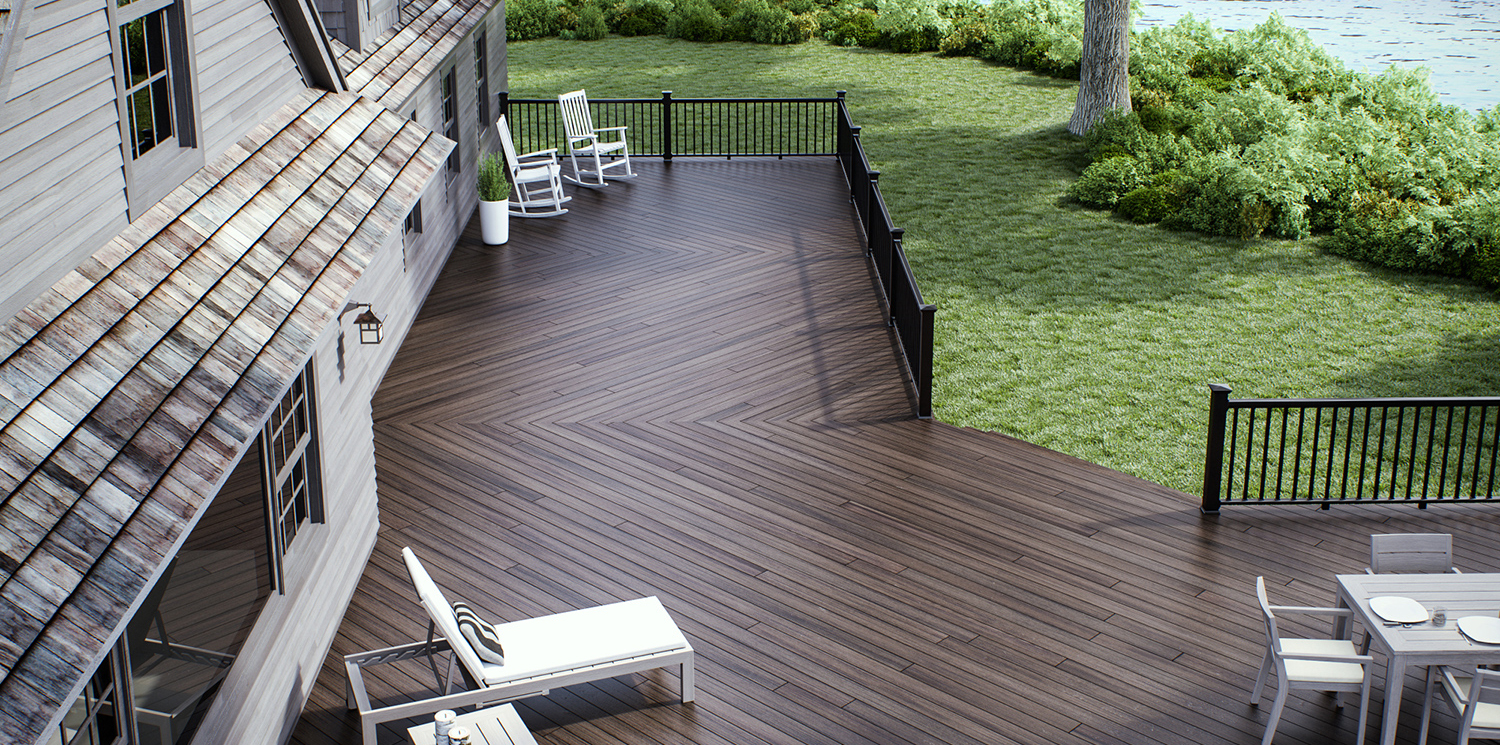 Elite Decking in Exotic Jarrahwood
