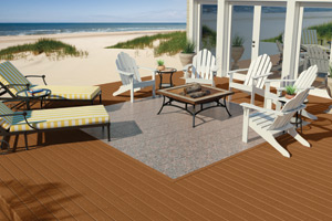 composite deck veranda composite decking spacing
