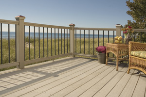 Veranda Composite Decking and Ornamental Railing